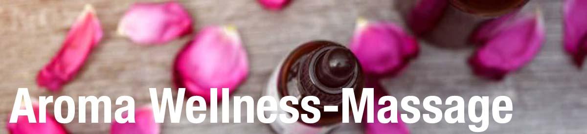 AROMA Wellness-Massage bei RUND UM GLÜCKLICH
