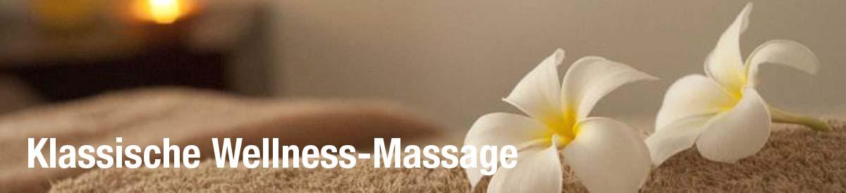 Klassische Wellness-Massage bei RUND UM GLÜCKLICH